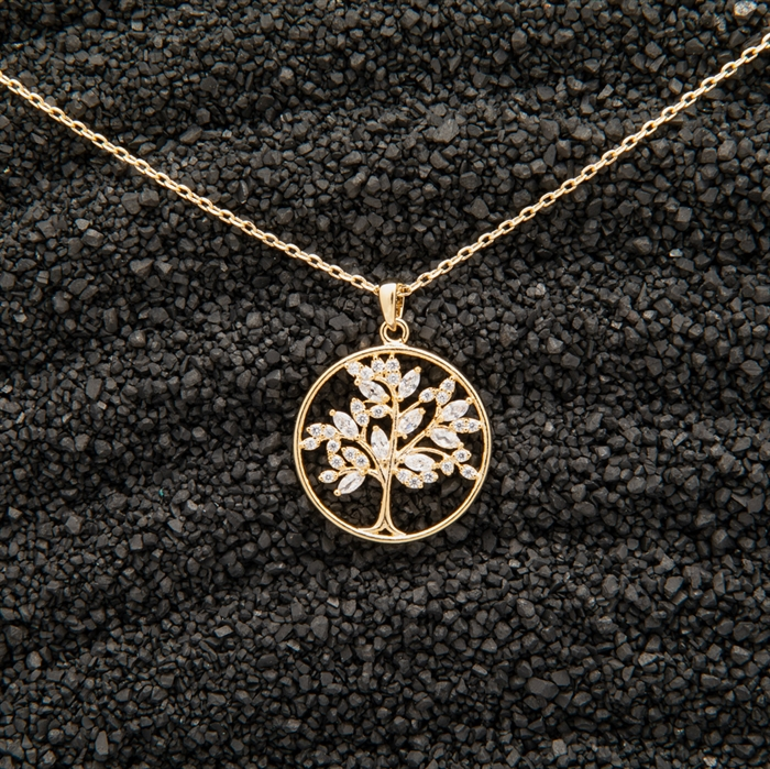 Picture of Gold Tree of Life Necklace