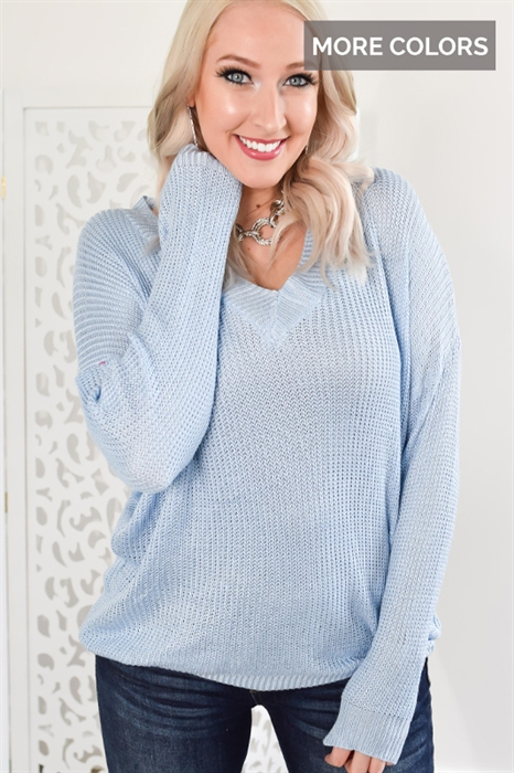Picture of Cool Spring Nights Sweater